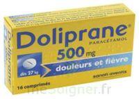 DOLIPRANE 500 mg Comprimés 2plq/8 (16) à Malakoff