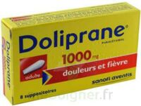 DOLIPRANE ADULTES 1000 mg, suppositoire à Malakoff