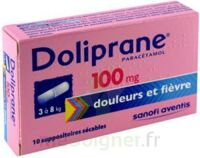 DOLIPRANE 100 mg, suppositoire sécable à Malakoff