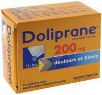DOLIPRANE 200 mg Poudre pour solution buvable en sachet-dose B/12 à Malakoff