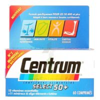 CENTRUM SELECT 50+ 60 COMPRIMES à Malakoff