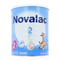 NOVALAC LAIT 2, 6-12 mois BOITE 800G à Malakoff