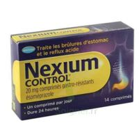 NEXIUM CONTROL 20 mg Cpr gastro-rés Plq/14 à Malakoff
