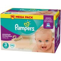 PAMPERS ACTIVE FIT T3 MEGA PACK 90 à Malakoff