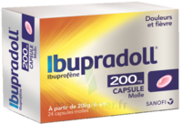 IBUPRADOLL 200 mg, capsule molle à Malakoff
