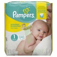 PAMPERS NEW BABY PREMIUM PROTECTION, taille 1, 2 kg à 5 kg, sac 22 à Malakoff
