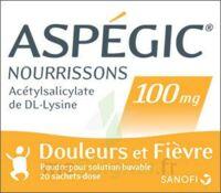 ASPEGIC NOURRISSONS 100 mg, poudre pour solution buvable en sachet-dose à Malakoff