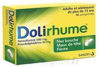 DOLIRHUME PARACETAMOL ET PSEUDOEPHEDRINE 500 mg/30 mg, comprimé à Malakoff