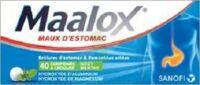 MAALOX HYDROXYDE D'ALUMINIUM/HYDROXYDE DE MAGNESIUM 400 mg/400 mg Cpr à croquer maux d'estomac Plq/40 à Malakoff