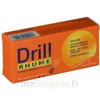 DRILL RHUME PARACETAMOL CHLORPHENAMINE 500 mg/4 mg, comprimé pelliculé à Malakoff
