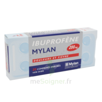 IBUPROFENE MYLAN 200 mg, comprimé enrobé à Malakoff
