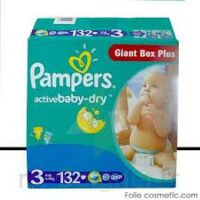 PAMPERS COUCHES ACTIVE BABYDRY 4-9KG X 132 à Malakoff