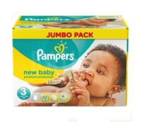 PAMPERS COUCHES NEW BABY 5-9KG 99 COUCHES à Malakoff