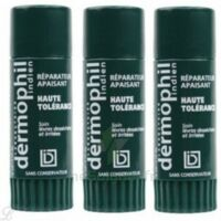 Dermophil indien haute tolérance stick lèvres lot de 2 + 1 offert à Malakoff
