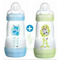 MAM BIBERON EASY START anti-colique 260 ml lot de 2_ BLEU & VERT à Malakoff