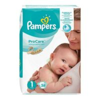PAMPERS PROCARE PREMIUM Couche protection T1 2-5kg Paq/38 à Malakoff