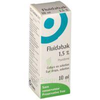 FLUIDABAK 1,5 %, collyre en solution à Malakoff