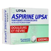 ASPIRINE UPSA TAMPONNEE EFFERVESCENTE 1000 mg, comprimé effervescent à Malakoff