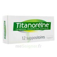 TITANOREINE Suppositoires B/12 à Malakoff